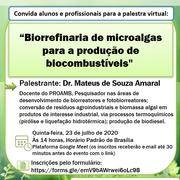Palestra virtual Proamb - Dr. Mateus S. Amaral